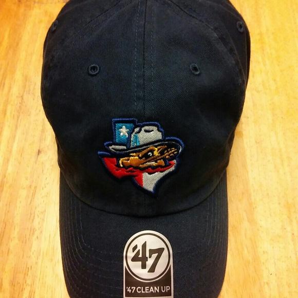 3888290380 Amarillo Sod Poodles MiLB  47 Brand Adjustable Hat